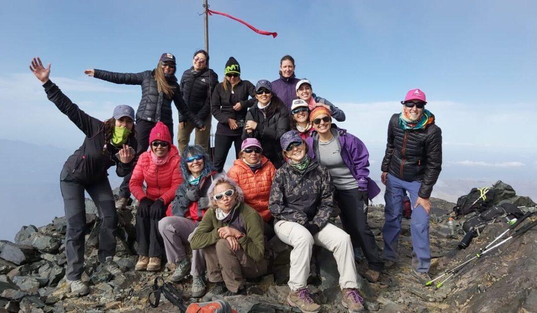 Mirá las postales del ascenso al cerro Morro del Negro (Mendoza)