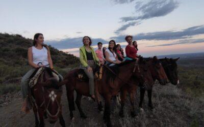 Así fueron nuestras cabalgatas en la montaña