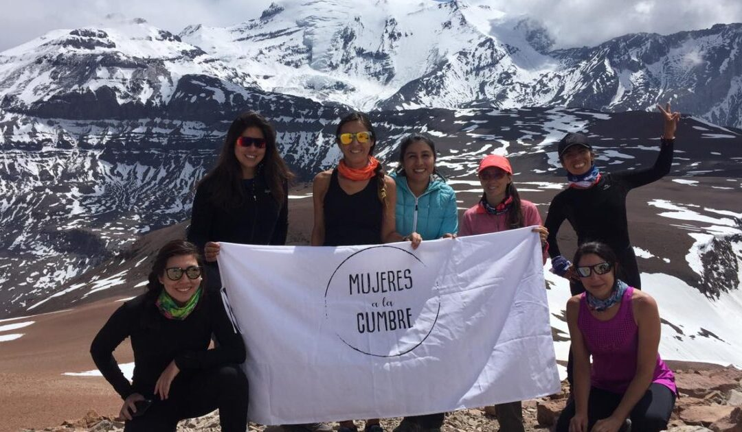 Fotos en Cerro Pintor, el segundo entrenamiento en altura