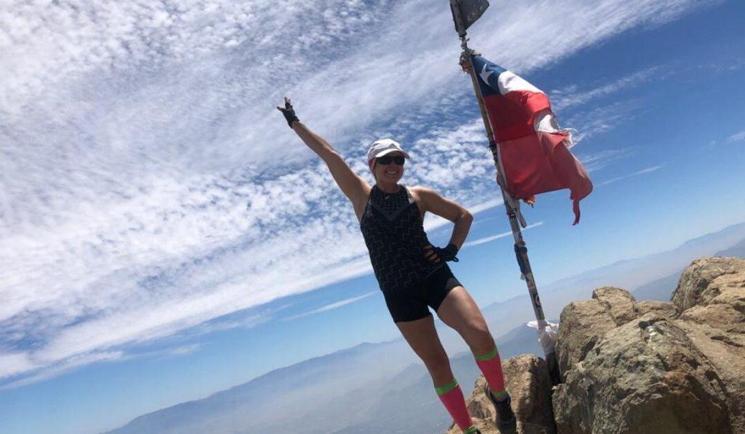 Claudia Faúndez: «En los cerros, mi mentalidad se hizo más fuerte»