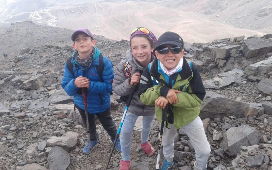 Salida de mamás con niños en Mendoza